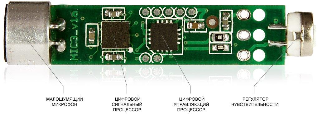 УСТРОЙСТВО ЦИФРОВОГО МИКРОФОНА STELBERRY M-50