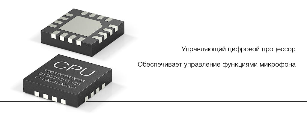 Управляющий процессор микрофона STELBERRY M-50HD