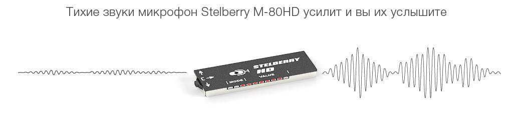 Входная автоматическая регулировка усиления микрофона Stelberry M-80HD