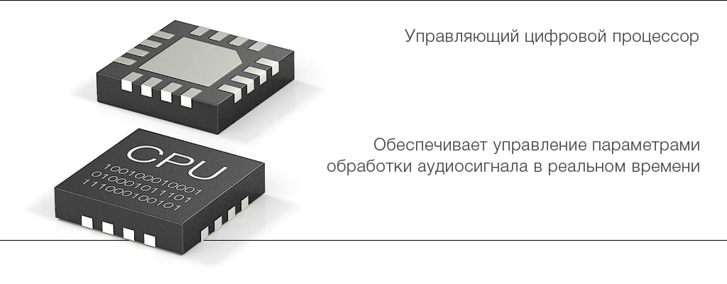 16-и битный управляющий процессор микрофона Stelberry M-80HD