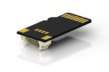 Выносной разъем полностью повторяет конструкцию microSD карты