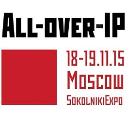 STELBERRY на выставке All-over-IP 2015